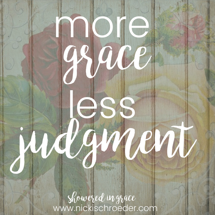 Give The Gift Of Grace Today | Nicki Schroeder