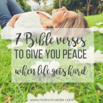 7 Bible Verses To Give You Peace
