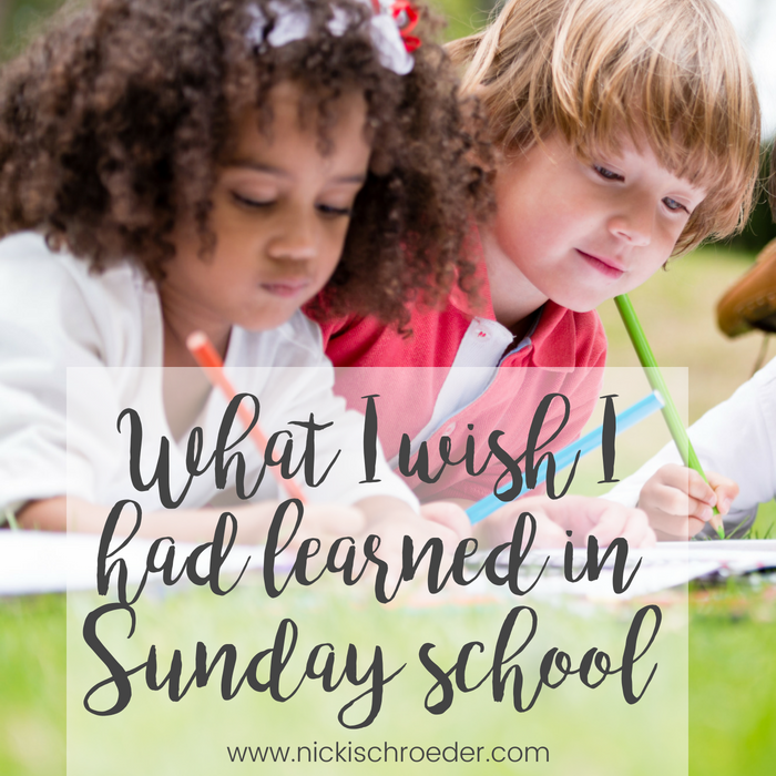 sunday school messes