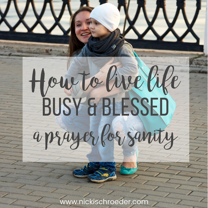 busy and blessed parenting