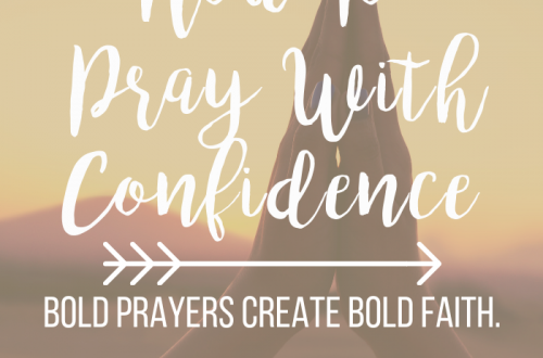 bold prayers create bold faith