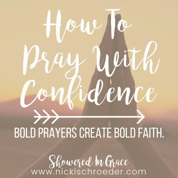 bold prayers create bold faith