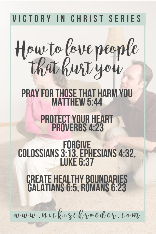 4 ways to love people who hurt you