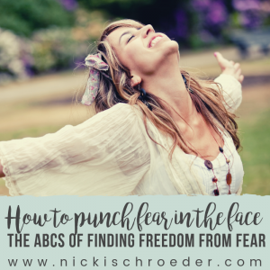 how to punch fear in the face
