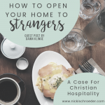 How To Open Your Home To Strangers