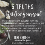 5 Truths That Feed Your Soul